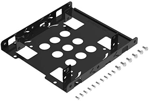 Sabrent 2.5 Inch to 3.5 Inch Internal Hard Disk Drive Mounting Bracket Kit (BK-HDDH)