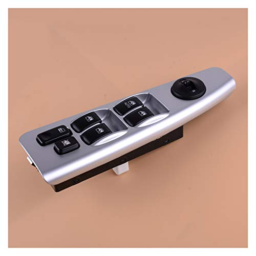 CMEI Espejo retrovisor eléctrico elevalunas interruptor de control maestro interruptor de botón para Kia Spectra Cerato 93570-2F200