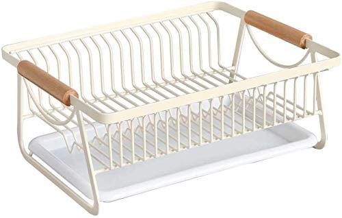 XXT Fer forgé Cuisine vaisselle Drain rack panier de ménage Arts de la table Support de rangement