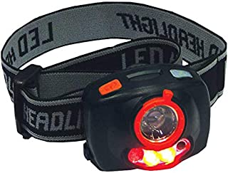 Motolite MT30100 Super Bright Cree LED Headlamp Torch with Auto On/Off and Flashing Warning Lights