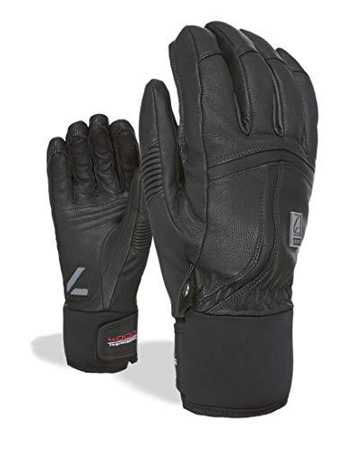 Level Off Piste Leather, Guante para Hombre, Hombre, 2064UG, Negro, 9.5 - XL