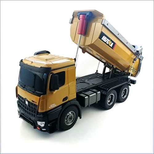 Remote Dump Truck Construction Truck Loading Truck Dump Truck Alloy Material Gelb