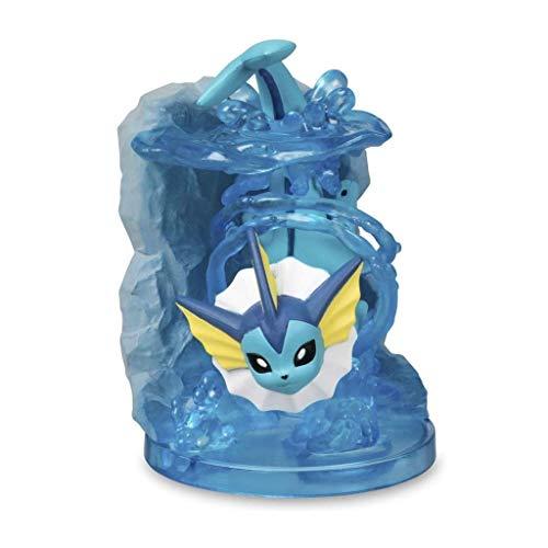 Siyushop Pokémon Center Gallery: Vaporeon - Aguamarina Anillo De Alta 9cm