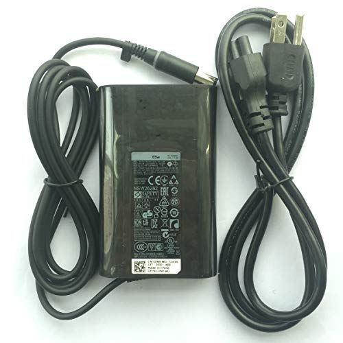 Genuine Ac Adapter 65W 19.5V 3.34A For Dell Latitude 09RN2C 6TM1C HA65NS5-00 A065R039L 7480 5480 7280 5580 E6410 E6430 E6440 E7440 E7450 310-2860 928G4 Laptop Battery Charger Power Supply