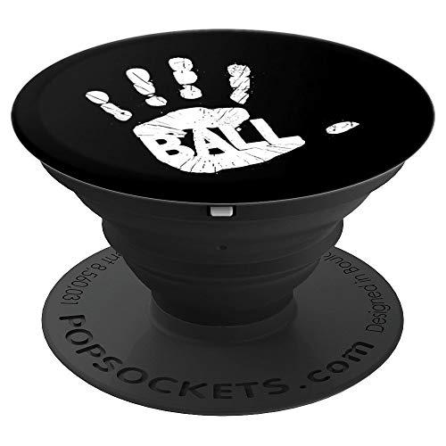 Handball Deutschland I Abdruck Hand & Ball I Handballer - PopSockets Ausziehbarer Sockel und Griff für Smartphones und Tablets