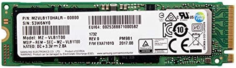 Samsung PM981 Polaris 1TB M.2 NGFF PCIe Gen3 x4, NVME Solid state drive SSD, OEM (2280) MZVLB1T0HALR-00000