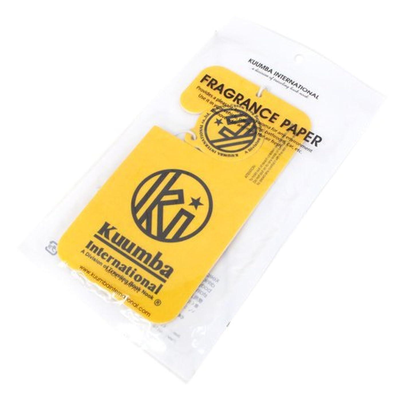 忌み嫌う戸棚シリンダーKUUMBA (クンバ)『Paper Freshener』(Guilo) (ONE SIZE)
