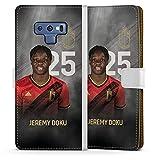 DeinDesign Étui Compatible avec Samsung Galaxy Note 9 Étui Folio Étui magnétique RBFA Produit...