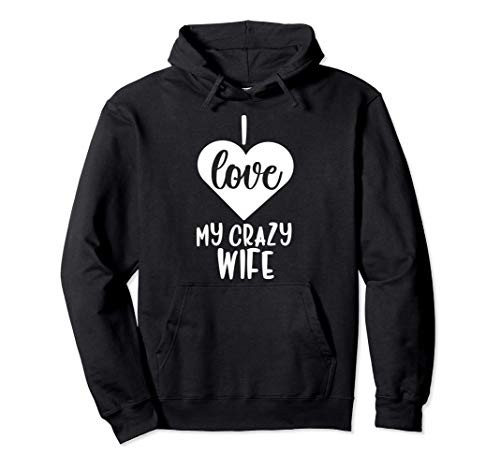 Camisa del día de San Valentín para el marido - Amor Mi espo Sudadera con Capucha