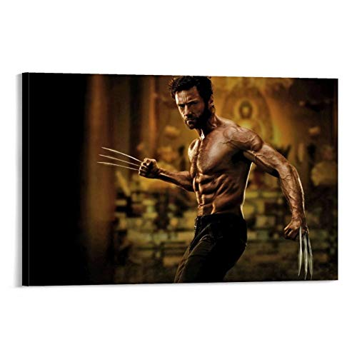 Movie X-Men Mutants Wolverine Logan Steel Claw Muscle Cool Posters and Prints Used for Bedroom 12x18inch(30x45cm)
