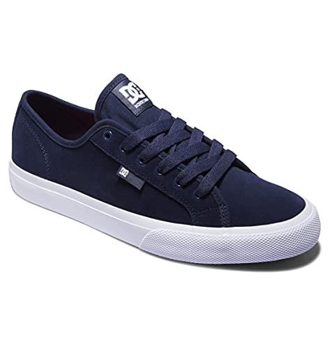 DC Shoes Manual S - Zapatillas de Cuero para Skate - Hombre - EU 45