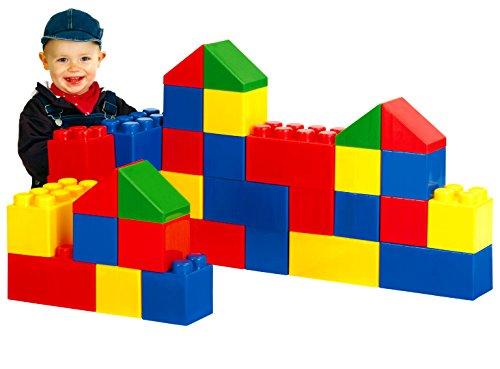 Wader Quality Toys Bausteinblock XXL, 36 Teile