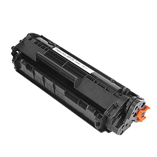 Cartucho de tóner 2612A, Negro de Alta dureza, fácil de Agregar en Polvo, Cartucho de tóner, para Canon LBP-2900/3000 / L11121E para HP M1319F / M1319MFPHP(Black)