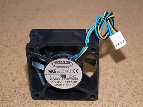 Everflow Ventilador F126025BU PWM 60MM