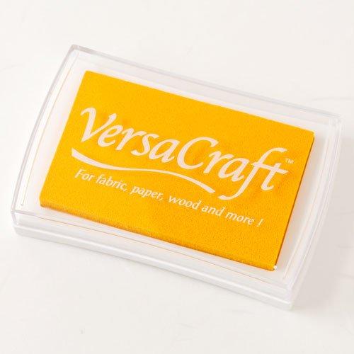 スタンプ用インクバーサクラフト(VersaCraft)レモンイエロー (19942-111)布用・顔料系水性インクこどものかおStamp ink