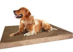 image of Dogbed4less Orthopedic Memory Foam Dog Bed