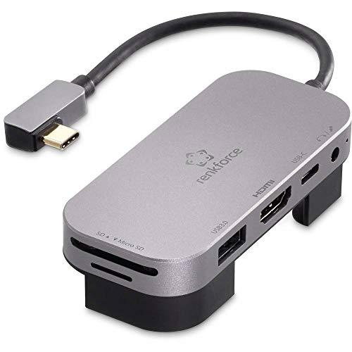 Renkforce RF-4533946 USB-C™ Mini-Dockingstation Passend für Marke (Notebook Dockingstations): Universal, Apple inkl. La