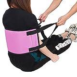 FUSHIAD Transfer Sling,Padded Standing Assist Belt for Elderly,Heavy Duty 4 Handles Patient Lift Sling,Transfer Nursing Sling,Standing and Lifting Aid for Female Disabled,Senior,Injured,Handicapped