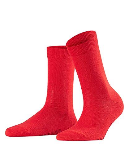FALKE Damen Socken Family - 94prozent Baumwolle, 1 Paar, Rot (Lipstick 8000), Größe: 39-42