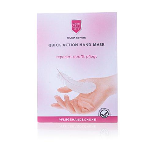Micro Cell 3000 Hand Repair Quick Action Hand Mask, 1 Paar Handschuhe mit 15 ml Handmaske