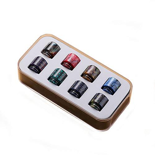 Drip Tip Box 810 DripTips Mundstück Verdampfer Coils Vape O-Ring