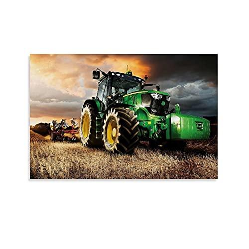 Póster de John Deere para tractor de granja (40 x 60 cm)