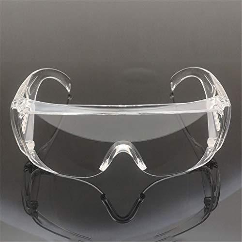 HOTPINK1 Gafas de protección contra el polvo ocular transparente