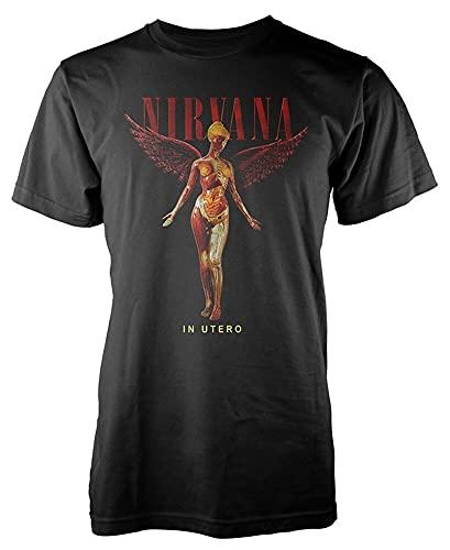 KLMI Nirvana 'in Utero' T-Shirt blackXL