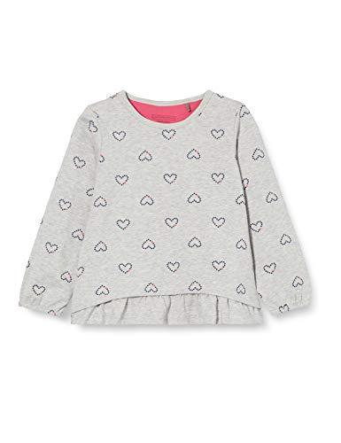 bellybutton Baby-Mädchen Sweatshirt T-Shirt, Allover Multicolored, 74
