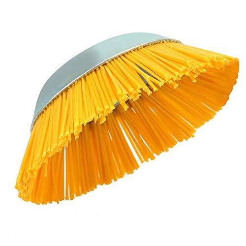 MXECO Bowl Typ Mechinery kreissäge Durable Nylon Draht Jäten Bürste Draht Rad Werkzeuge Zubehör Industriebürste (sivler und gelb)