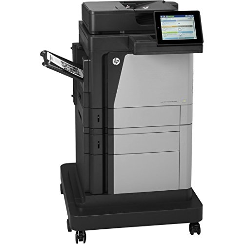 Renewed HP LaserJet Enterprise MFP M630F Multifunction Printer B3G85A With 90-day warranty With 500-SHEET TRAY AND CABINET WITH STAND