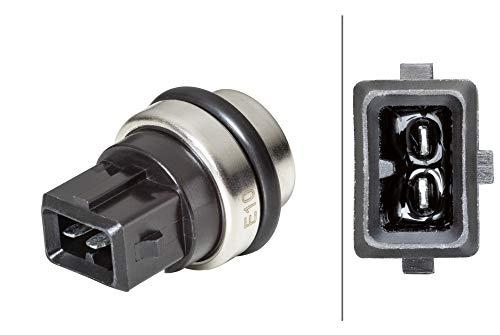 HELLA 6ZT 014 397-041 - Interruptor de temperatura, ventilador de radiador de 2 polos, con juntas