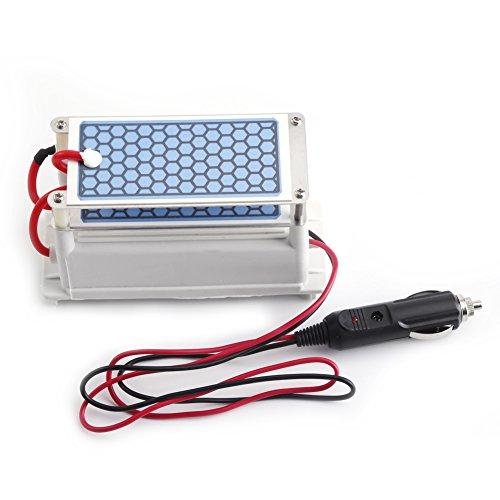 DC 12V 10g / H Auto Ozon Generator Luftreiniger Auto Ozon Maschine Ozon keramischen Platten
