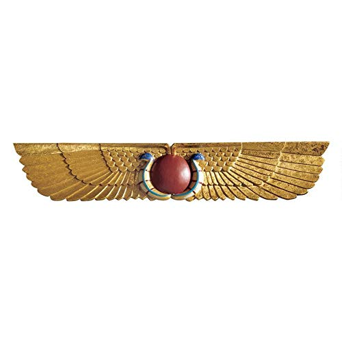 Design Toscano Egyptian Temple Sculptural Wall Pediment