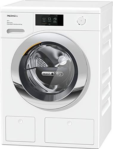 Miele WTR 860 WPm - PowerWash 2.0 - TwinDos, Lavasciuga, Classe A, 46 dB, 1600 rpm, Carico Frontale, 8/5 kg, Bianco