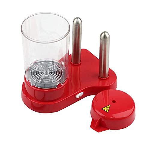 DGDH Máquina de Perros Calientes, Máquina de Salchicha eléctrica de Tambor doméstico Máquina de Barbacoa Máquina de Cocina Herramienta de Cocina Máquina de Desayuno