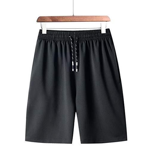 Amcool Herren Cargo Hose Shorts Sommer Freizeit Sweatshorts Kurze Hose Chino Training Jogging Hose Mit Kordel Regular Fit
