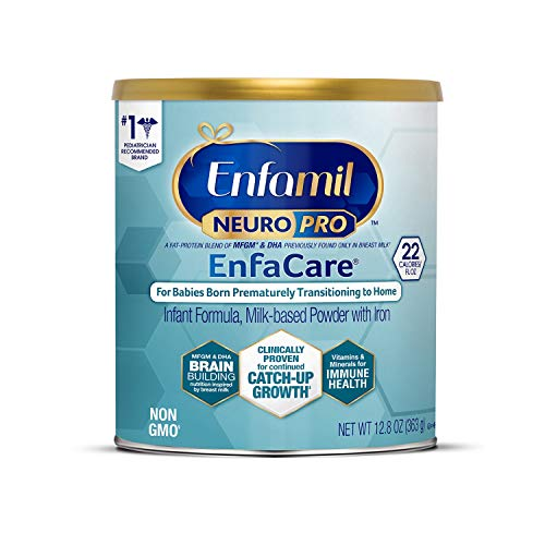 Enfamil NeuroPro EnfaCare Premature Baby Formula Milk Powder Can 12.8 oz. Iron, MFGM, Omega 3 DHA, Probiotics, Immune Support & Brain Development  (Package May Vary)