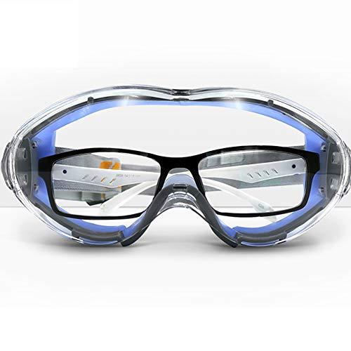 Anti-nebel Goggles,schutzbrille Brillen,anti Apatter Schutzbrille Wind Staubproof Augenschutz Brille Klar Schutzbrille Brillen Schlagfestigkeit B