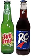 'Dixie Duo' Soda 2-Pack RC Cola & Sundrop 12oz Bottles