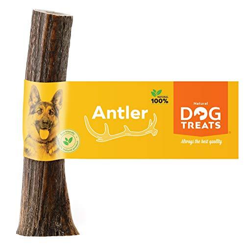 100% Natürlich Hirschgeweih für Hunde Kauspielzeug Kauknochen Hundeknochen Geweih, Größe X-Large