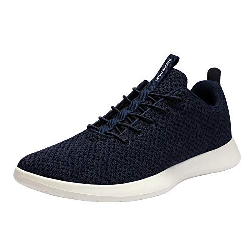 DREAM PAIRS Men's Navy Fashion Sneakers Lightweight Breathable Walking Shoes Size 10.5 M US Liberty-M