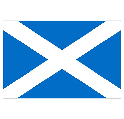 Supstick Schotland Vlag Stickers 18 x 12 cm