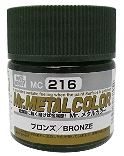 GSIクレオス Mr.メタルカラー ブロンズ 10ml 模型用塗料 MC216