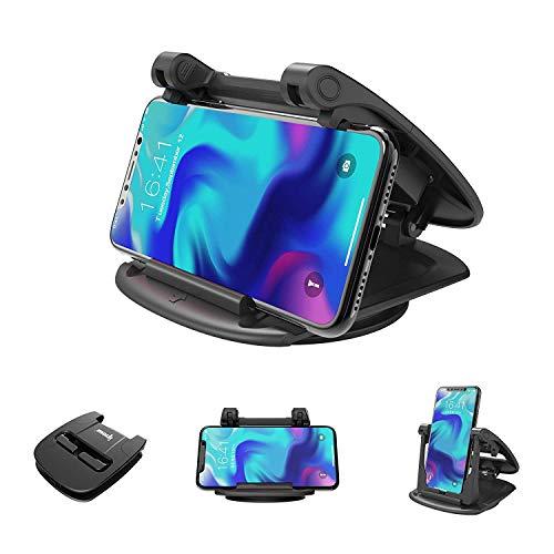 ipow Multi-Winkel Handy Ständer Auto Handyhalterung für Schreibtisch/ Armaturenbrett, Tisch Handyhalterung Universal kompatibel mit Handys wie Samsung Galaxy, iPhone 11/ XS/ Xr/ 8/ 7/ 6s usw.