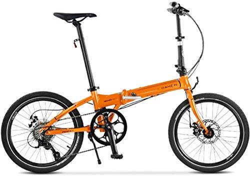FEE-ZC Universal City Bike 20 Zoll 8-Gang Faltrad Mit Mechanischer Scheibenbremse Für Unisex Erwachsene