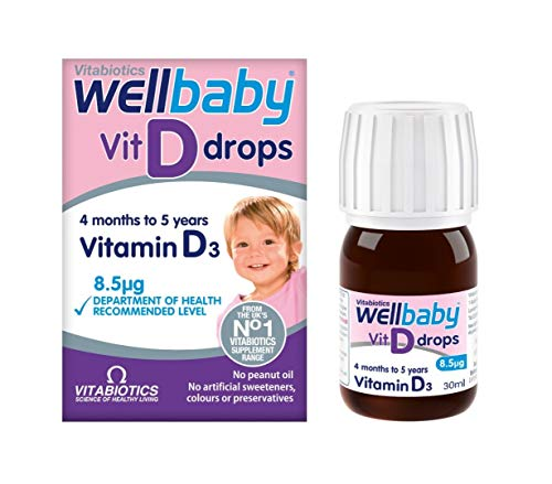 Wellbaby 30 ml Vitamin D Drops by Wellbaby