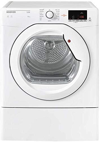 Hoover HLV10DG 10KG Vented Freestanding Tumble Dryer with Glass Door
