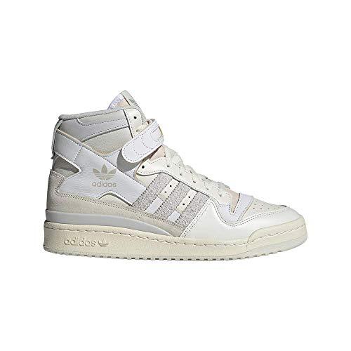 adidas Forum 84 High, Scarpe da Ginnastica Uomo, Grey One/Orbit Grey/Ftwr White, 44 2/3 EU