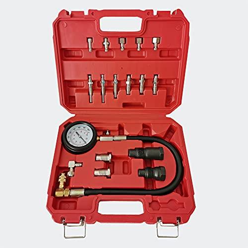 Testeur de Compression Auto/Poids Lourd Moteur Diesel 0-70 Bars Pièces Kit